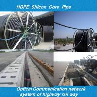 hdpe duct/hdpe siliconed pipe/Plb HDPE Fiber Optic plastic pipe for silicon Manufactures