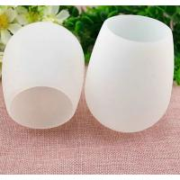 good quality portable FDA and LFGB silicone cup for  wine ,flexible silicone wine cup Manufactures