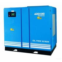 Buy cheap Adekom Oil Free Rotary Screw Air Compressor from wholesalers