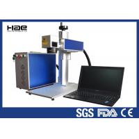 Moveable 20w Fiber Laser Marking Machine For Metal Watches / Auto Parts Manufactures