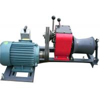 Tower Erection 1 Ton Winch , High Versatility Winch Machine For Cable Pulling Manufactures
