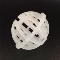 China Water Treatment Media PP Plastic Tri Pack Ball 50mm For Wholesale on sale