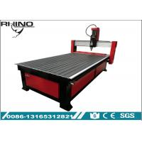 Single Head Aluminium Gantry CNC Wood Carving Router Machine For Door Making Manufactures