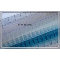 China top quality pc hollow transparent roofing sheet/polycarbonate skylight roof sheet on sale