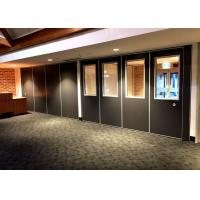 Quality Easy Operation Sliding Room Dividers  , Sliding Wall Panels  Anodizing Treatment for sale