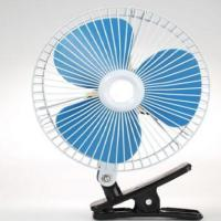 Plastic Back Guard Car Cooling Fan 8 Inch Oscillating With Customized Color Manufactures