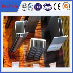 aluminum suppliers 6061 t6 / sand blasted aluminium extrusion Manufactures