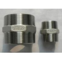 China BS3799 duplex stainless ASTM A182 F51 Duplex2205 S31803 hex nipple on sale