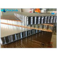 Fire Proof Honeycomb Wall Panels , Lightweight Honeycomb Panels 1x1 M2 Size Manufactures