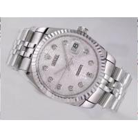 Wholesale Computer Dial-Diamond Marking Rolex Datejust Swiss ETA 2836 watch Manufactures