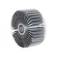 China Mill Finish U Shaped Round Heat Sink Extrusion Aluminum Profile on sale