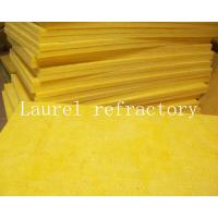 Glass Wool Board Insulation Refractory 50mm x 1.2M x15M with Aluminium Foil Manufactures