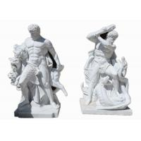 Quality Western style life size white marble stone man statue sculpture for sale