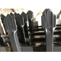 Metal Steel Ornamental Fencing Made In China, STEEL garrison Fence, High Security Fence Manufactures