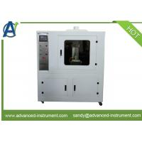 PLC Controlled Full Face Masks Flame Resistance Testing Equipment by EN 136 Manufactures