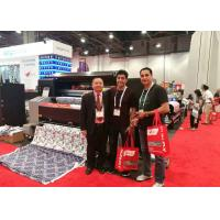 Automatic Flag Sign Printing Equipment , Digital Fabric Printing Machine With USB Driver Manufactures