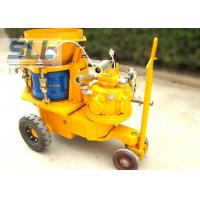 SPZ Series Rotor Type Dry Wet Mix Shotcrete Machine OEM / ODM Acceptable Manufactures