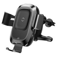 China Sensor Qi Car Wireless Charger Air Vent Mount Mobile Phone Holders with Intelligent Infrared on sale