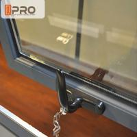Exquisite Double Glazed Awning Windows , Vertical Open Awning Casement Window Manufactures
