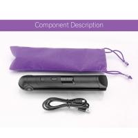 Wireless Gift Rechargeable Hair Straighteners / Small Flat Iron With 3 Setting Manufactures