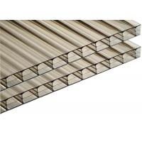UV Coating Extruded Triple Wall Polycarbonate Sheet Roofing Board Impact Resistant Manufactures