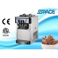 Small Commercial Ice Cream Machine Table Top Twin Twist Flavor 20Liters/Hour Manufactures