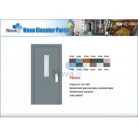 Quality NV31-S Series Hairline Stainless Steel Elevator Automatic Door / Elevator Manual Door for sale