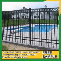 Best selling iron fence price phillippines factory manufacturer Manufactures