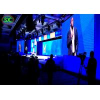 China HD Stage LED Screens P3 Indoor Full Color LED Video Wall Rental Minimum Noise on sale