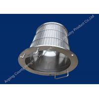 SS Rotary Drum Screen Filter Wedge Wire Basket Different Vee Wire Baskets Manufactures