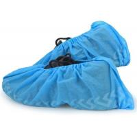 Latex Free PP Non Woven Disposable Shoe Protectors , Boot Covers Disposable Non Slip