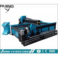 China Metal Pipe 105A Plasma Cutting Machine With Starfire Control System on sale