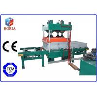 Four Cavities Pneumatic Vulcanizing Machine Electric Heating For Rubber Tile Manufactures