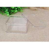 China Package Gift Boxes Clear Plastic Wedding Square Shaped 143.5×89×61mm on sale