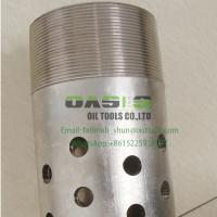 China SS316L API K55/J55 Standard Perforated Steel Pipe for Drilling Manufactures