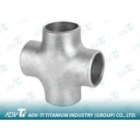 Acc ASTM B363 / ASME B16.9 Titanium Pipe Fittings Forged Crosses SCH5-160 Manufactures