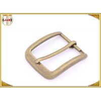 Custom Design Various Size Zinc Alloy Metal Pin Belt Buckle For Men Manufactures