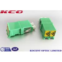 Single Mode Optical Fiber Adapter Duplex Auto Shutter LC/APC LC/UPC Without Flange Manufactures
