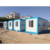 China Heat Insulated Modular Shipping Container Homes Customized Design 30 Years Life Span on sale