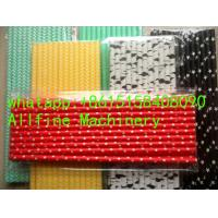 latest themed christmas halloween mixed foil sailor stripe striped chevron dot solid damask paper straw making machine Manufactures