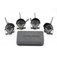China Waterproof Four Camera 2.4G Digital Wireless DVR Security System with Night Vision Cameras on sale