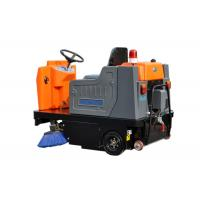 High Efficiency Electric Ride On Floor Sweeper Street Road Cleaning Machines Manufactures
