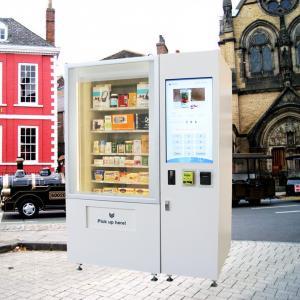 Freezer Harga Vending Machine / Candy Vending Machine Business Indoor Manufactures