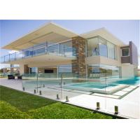 Buy cheap Outdoor glass railing balustrade stainless steel spigot railing system from wholesalers