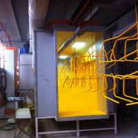 Small Powder Spray Booth Powder Chamber Coating Booth Spray Booth Manufactures