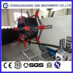 China 30m/min Plastic Pipe Coiler Machine , PE Pipe Coiling Machine Professional on sale
