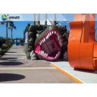 Vivid Green Dinosaur 5D Movie Theater Nine Seats With Luxury Chairs Manufactures
