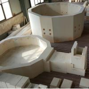 China Fused AZS zirconia corundum brick for glass industry kiln on sale
