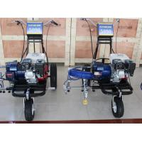 Large Parking Lots Road Marking Paint Machine / Highway Striping Equipment Manufactures