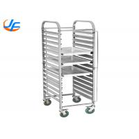 Bakery Equipment Cake Baking Tray Trolley Food Trolley With Pan Stainless Steel Manufactures